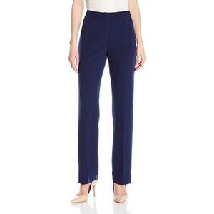 Kasper Women's Stretch Crepe Kate Trouser Pants, 4